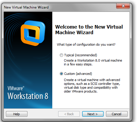 2. Crear la máquina virtual en Vmware Workstation 1.
