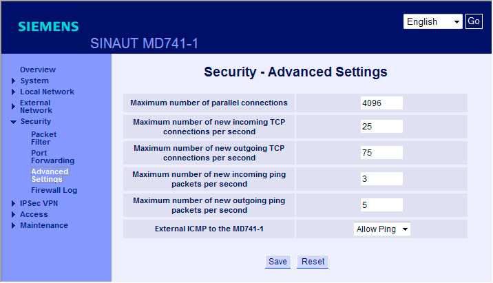 GETTING STARTED 3.5 Ejemplo 5: Acceso remoto - ejemplo de túnel VPN con MD741-1 y SOFTNET Security Client 4.
