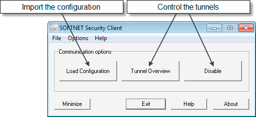 SOFTNET Security Client (S612/S613) 7.