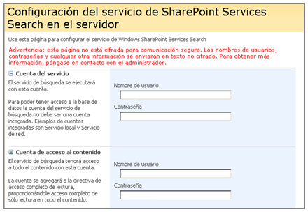 7.2 PARADA DEL SERVICIO WINDOWS SHAREPOINT SERVICES WEB APPLICATION Hay que desactivar el servicio Windows SharePoint Service Web Application (Aplicación Web de Windows SharePoint Services) en