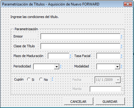 "81 Figura 25: Diseño del formulario frmnewfrd 2 i Private Sub Ayuda1_Click () 2 Call AyudaForms ("" frmnewfrd_21 "") 3 End Sub i Private Sub Ayuda2_Click () 2 Call AyudaForms ("" frmnewfrd_22 "") 3 End"