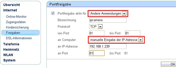 Inbound Filter: Permitir todo (Allow All) Clic en Save Settings para guardar la configuración Routers FRITZ!! 1.