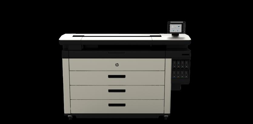 HP Large Format PageWide Technology Color at twice the speed of LED with lower running