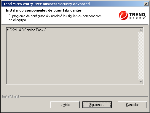 Guía de instalación de Trend Micro Worry-Free Business Security 7.0 1.