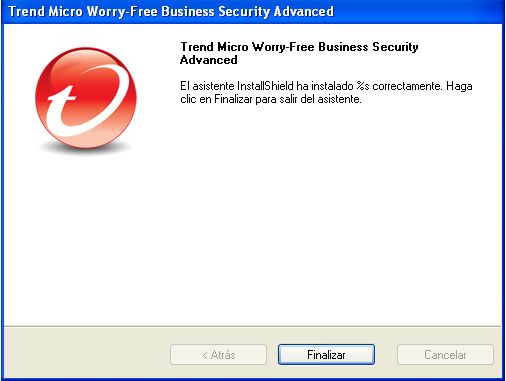 Guía de instalación de Trend Micro Worry-Free Business Security 7.0 2.