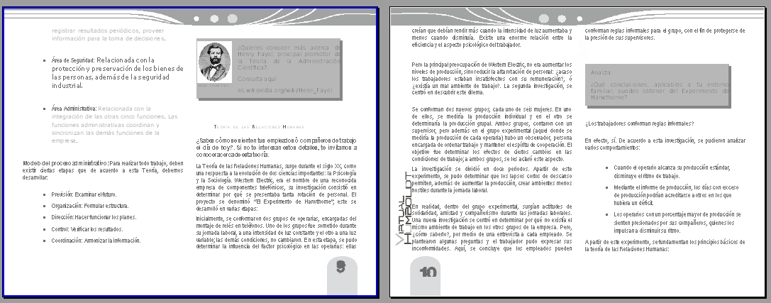 OUT: Documento en PDF Correctamente paginado Con estilos e identidad visual