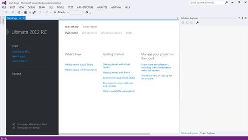 04 Visual Studio 2012 Novedades en Desarrollo para SharePoint Onpremise y Online con Visual Studio 2012 RC.
