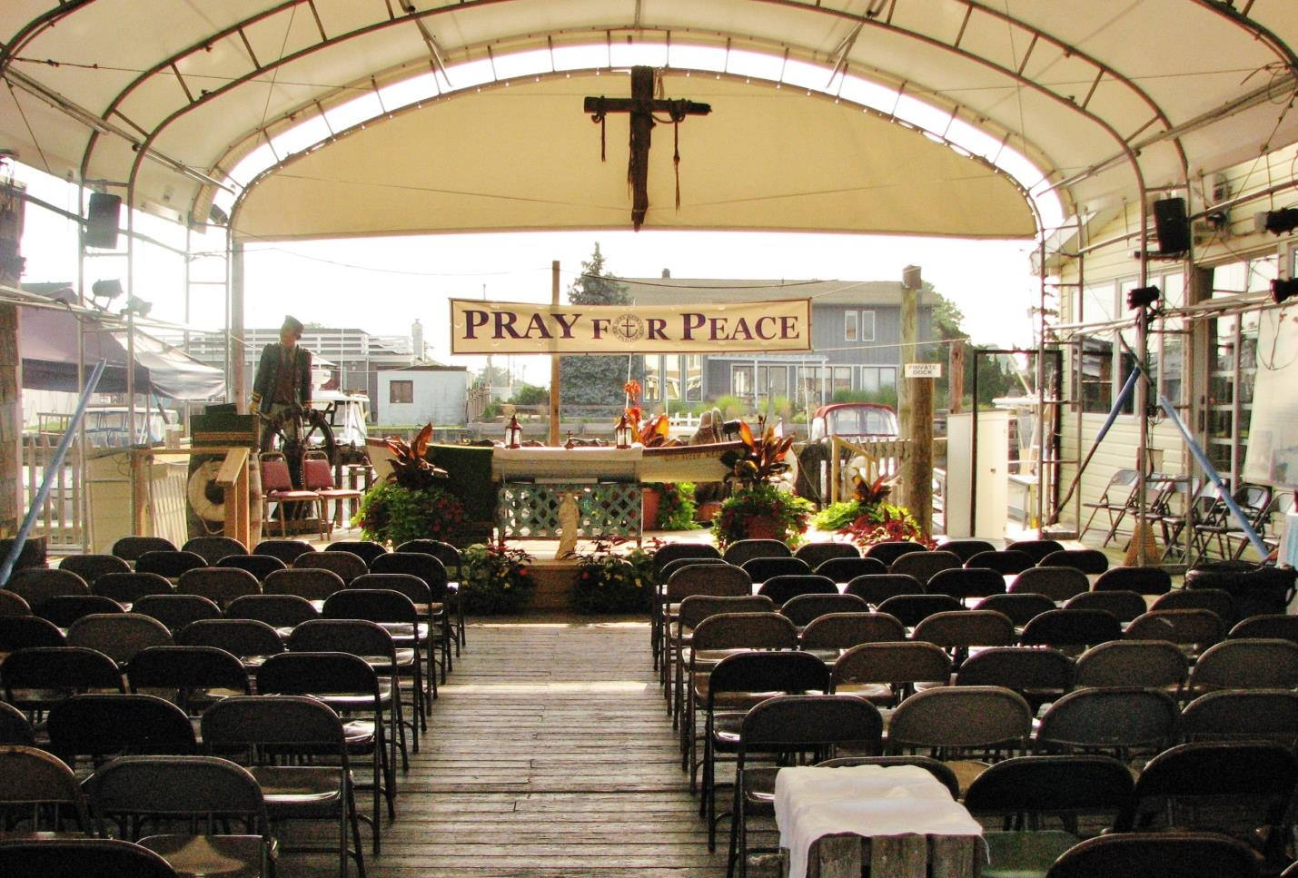 OUR HOLY REDEEMER ROMAN CATHOLIC CHURCH FREEPORT, NEW YORK 1911-2011 THERE IS A SEAT WAITING FOR YOU NEXT SUNDAY ON THE WATERFRONT!