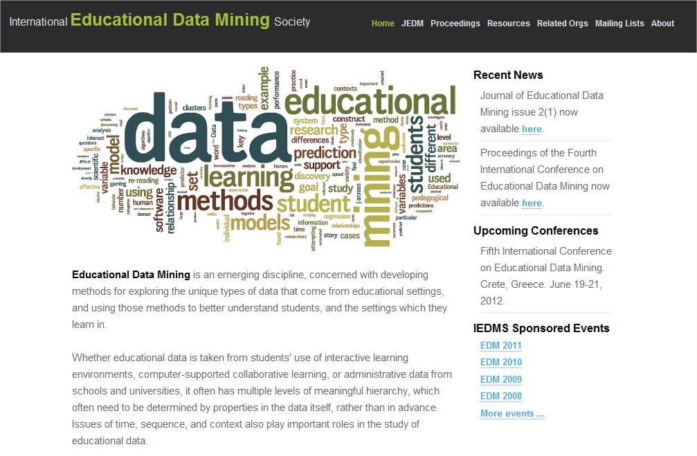 Educational Data Mining Society