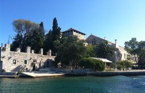 monastery, its condition in 1998 Grad Dubrovnik Plan of the