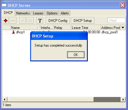 Configuración del Server DHCP Time Click on DHCP Setup Set DNS Set Set Network that Addresses server Gateway client for address may DHCP, for that use to