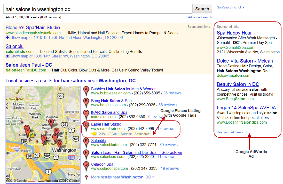 SEO local: Google Places Algoritmo