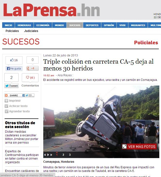 Algunos Accidentes