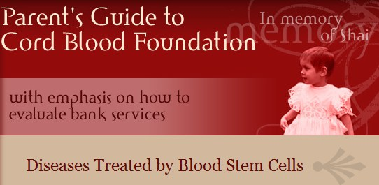 Diseases treated with stem cells Utilidad de las CMCU www.parentsguidecordblood.