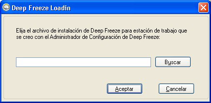 22 Instalación y actualización de Deep Freeze Client Instalar Deep Freeze Client Si está usando Deep Freeze Enterprise 7.