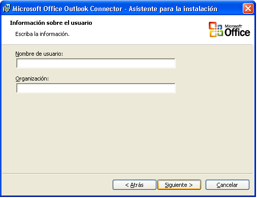 Paso 2. Instalación de Microsoft Office Outlook Connector. A.