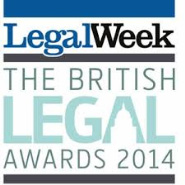 European Legal Team of the Year (British Legal Awards 2014) Regional Firm of the Year