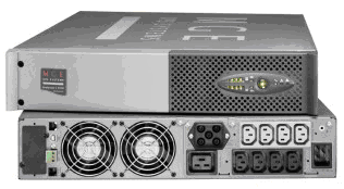 Evolution UPS S3000 RT (modelo tipo rack 3U) y