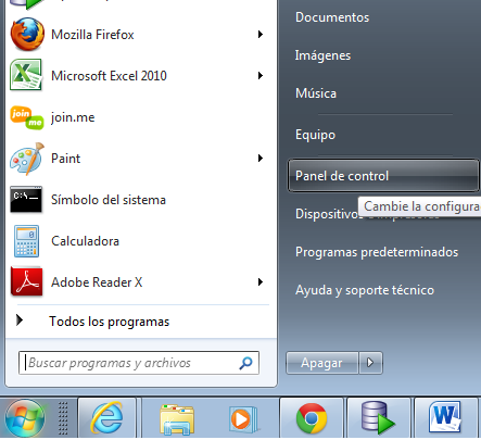 Windows Vista, Windows 7 y Windows 8.