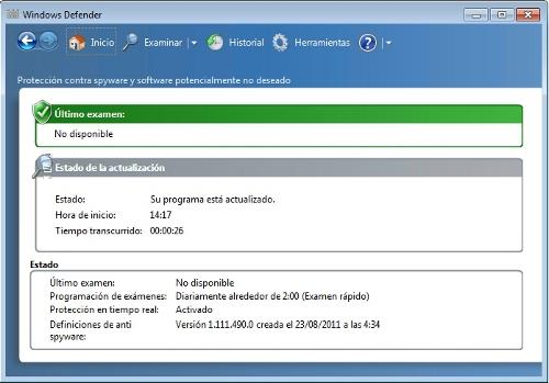 Desactivar Windows defender.