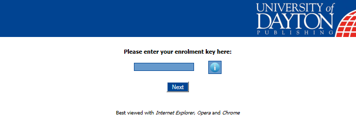 Enrolment Process Registering the Enrolment Key On entering http://www.udponlinestore.com//registro.