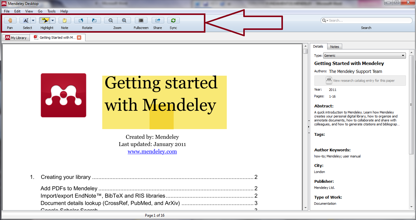 how to add pdfs to mendeley