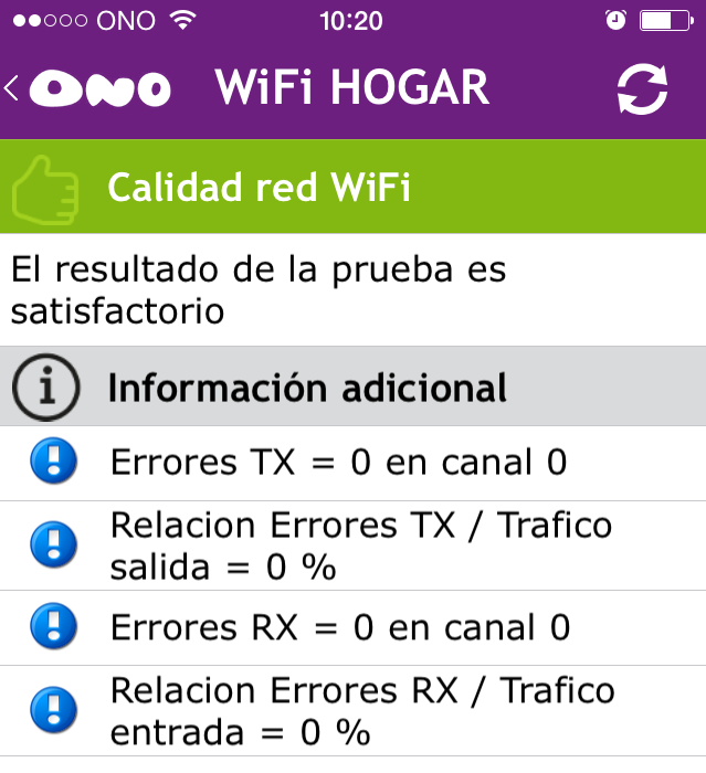 - Nivel de seguridad WiFi.
