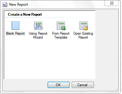 1 Creating Reports in Designer A report in the designer can be created using the tools for creating reports and report components.