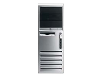 Hewlett-Packard HP Compaq Business Desktop dc7700 - MTC - 1 x Core 2 Duo E6600 / 2.