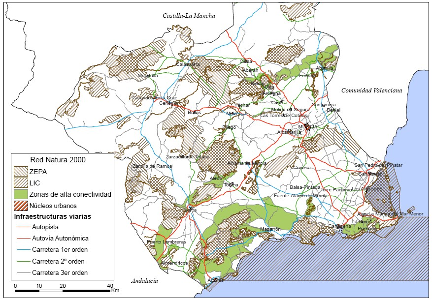Eco-Corridors at Regional Level Habitat distribution Environmental Factors Palmetto brush