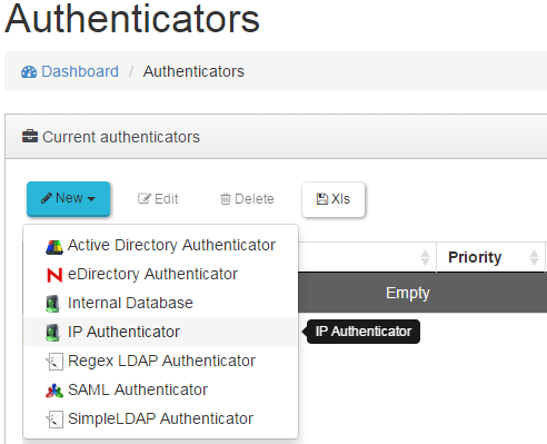 4.2.4 IP Authenticator Es posible asignar escritorios virtuales a dispositivos de conexión mediante el