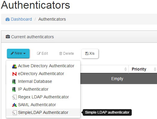 4.2.6 LDAP Authenticator Es un Autenticador genérico disponible dentro de la plataforma UDS.