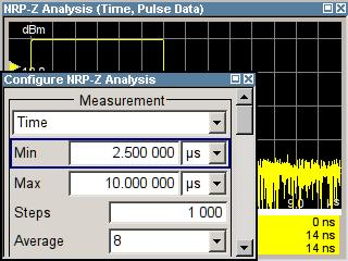R&S SMA-K28 Demo Guide and Extended Operating Guide How to Measure the Different Pulses of a Signal All pulse data values are measured from (or are related to) the initial pulse: Time resolution = 12.