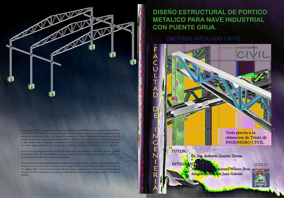 Civil universidad estatal de cuenca facultad ingenieria for Diseno estructural pdf