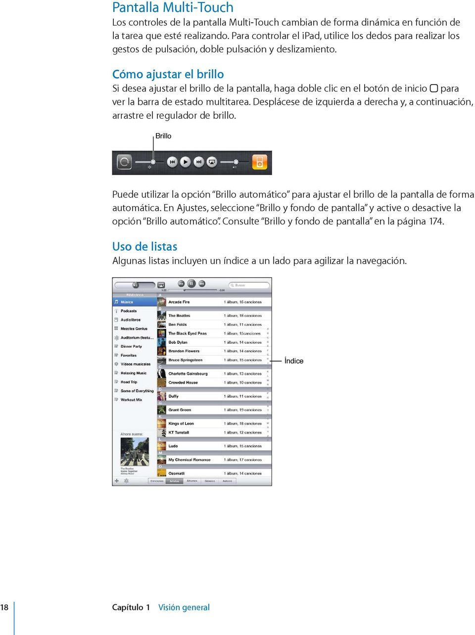 ipad Manual del usuario Para el software ios PDF
