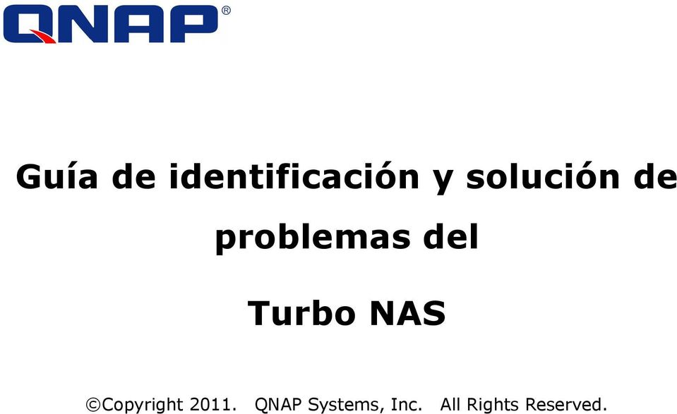 Turbo NAS Copyright 2011.