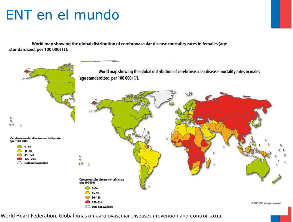 Global de Salud Atlas on