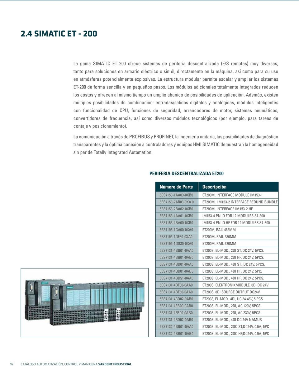 ET200S, 8DO SINK OUTPUT DC24V/0,5A