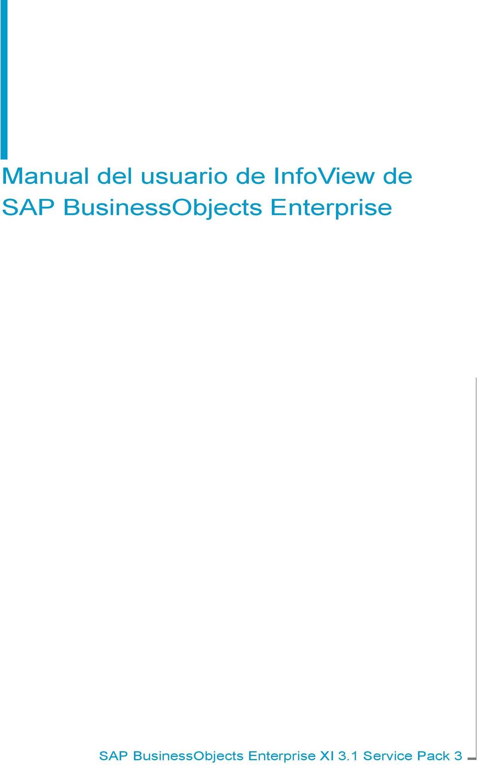 BusinessObjects Enterprise