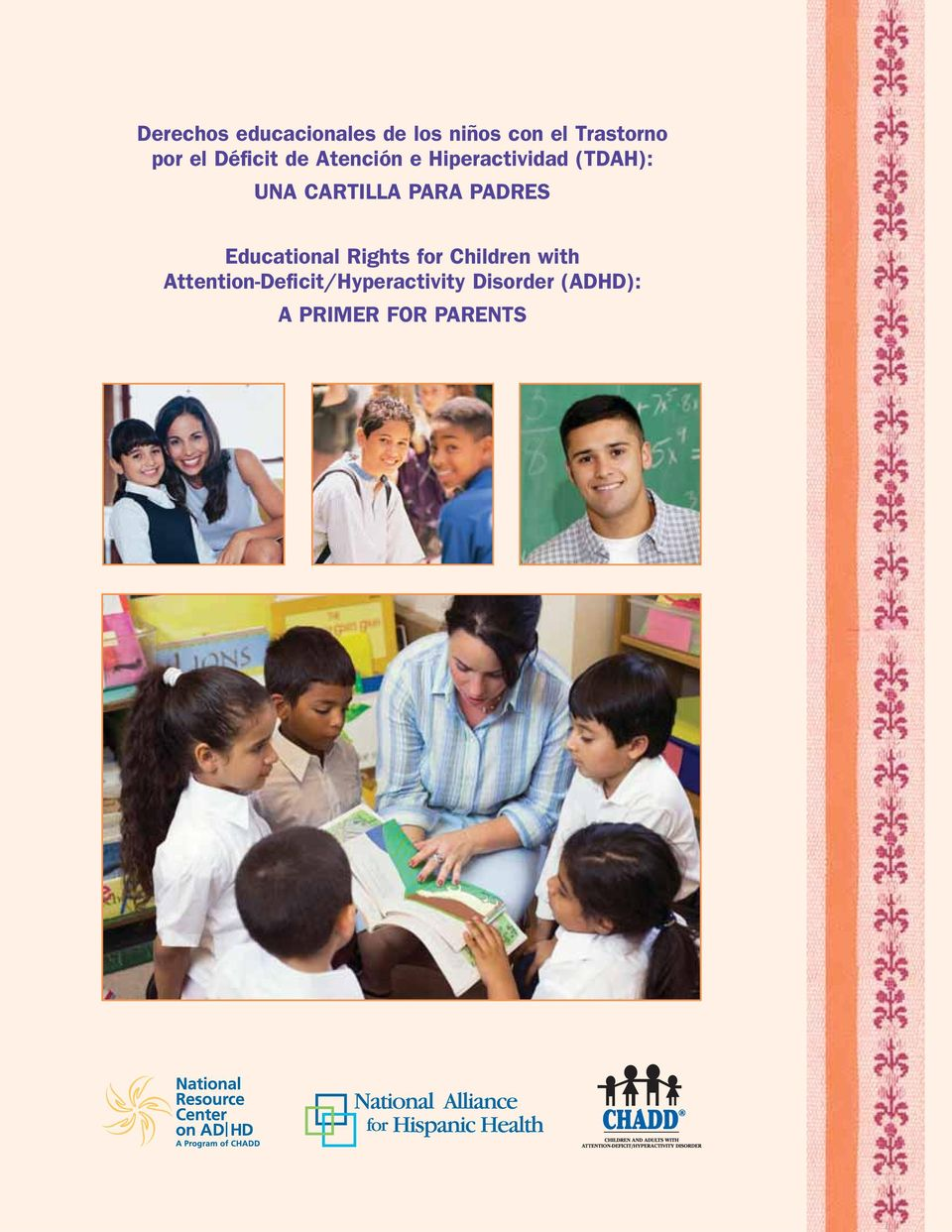 CARTILLA PARA PADRES Educational Rights for Children with