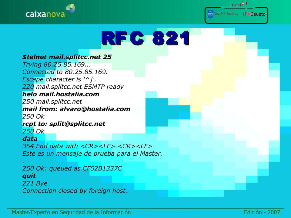 com 250 Ok rcpt to: split@splitcc.net 250 Ok data 354 End data with <CR><LF>.