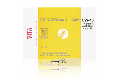 Sortierung VITA CAD-Waxx for inlab Envase normal Dimensiones: 14 x 15 x