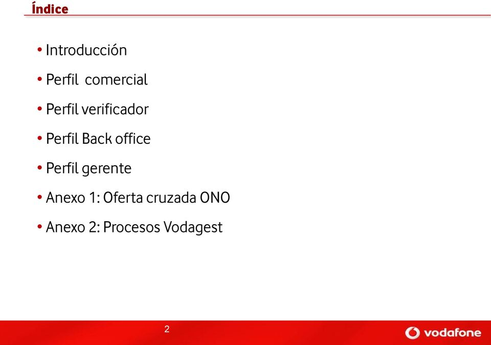 office Perfil gerente Anexo 1: