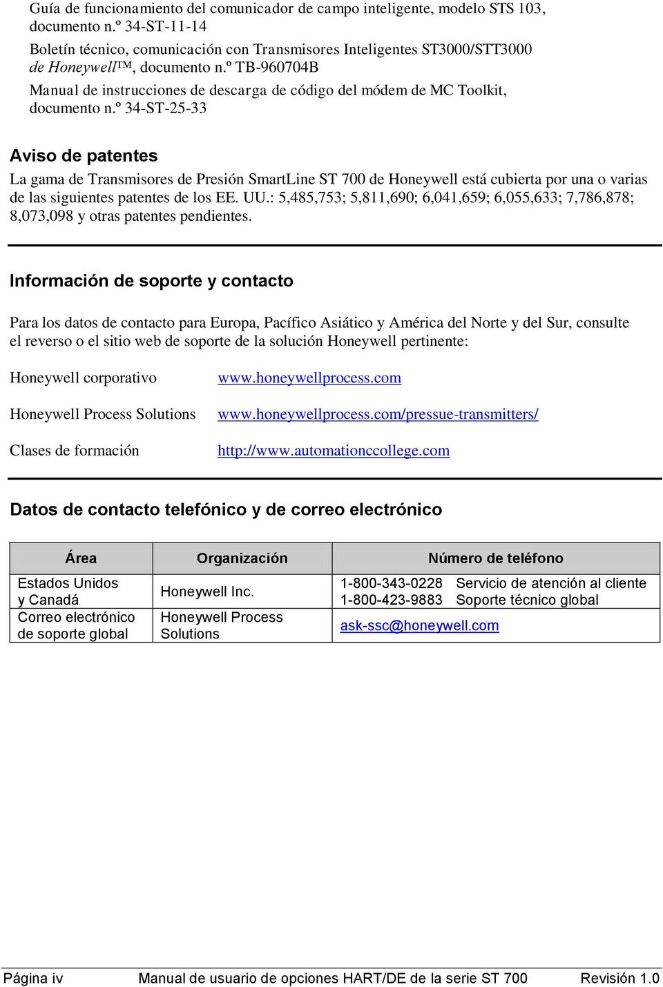 º TB-960704B Manual de instrucciones de descarga de código del módem de MC Toolkit, documento n.