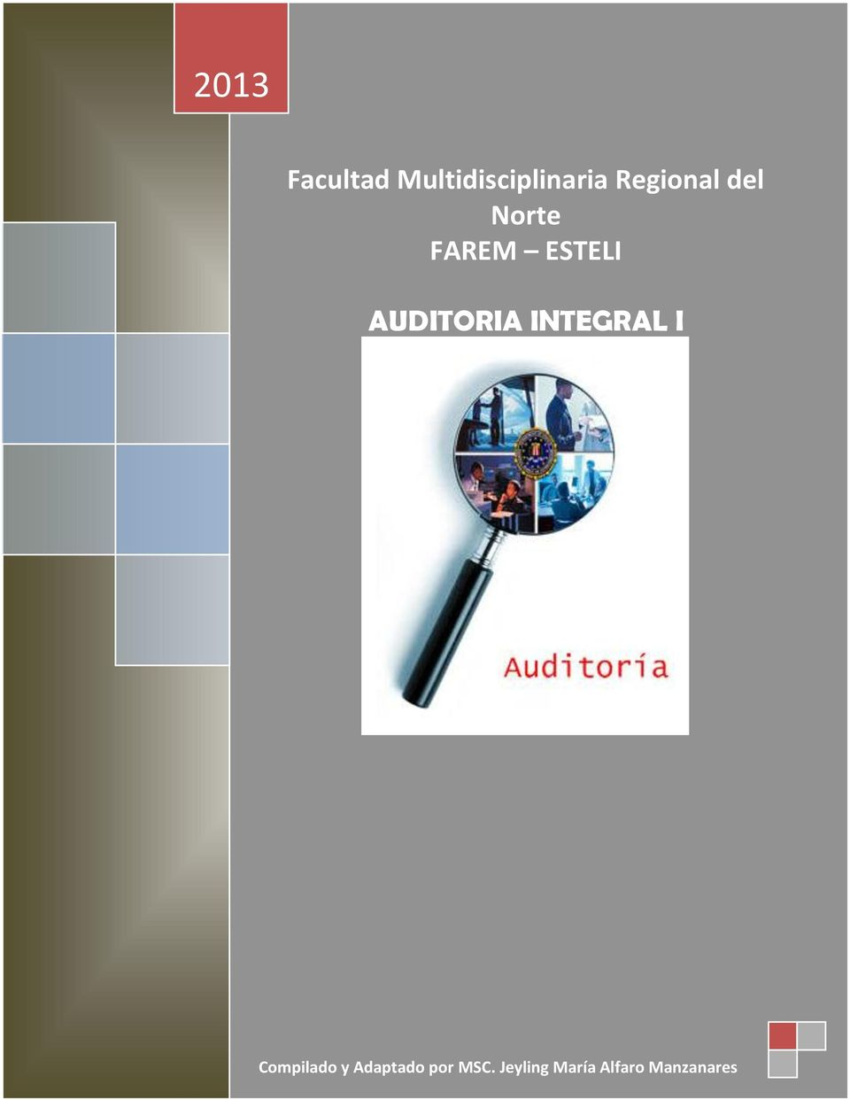 AUDITORIA INTEGRAL I Compilado y