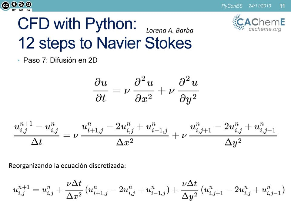 Barba 12 steps to Navier Stokes