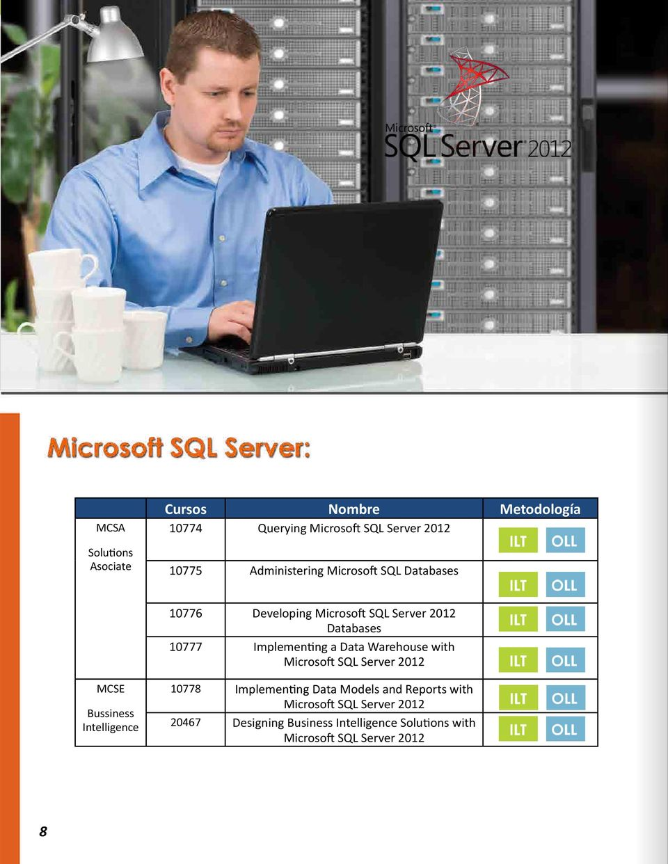 a Data Warehouse with Microsoft SQL Server 2012 MCSE Bussiness Intelligence 10778 Implementing Data Models