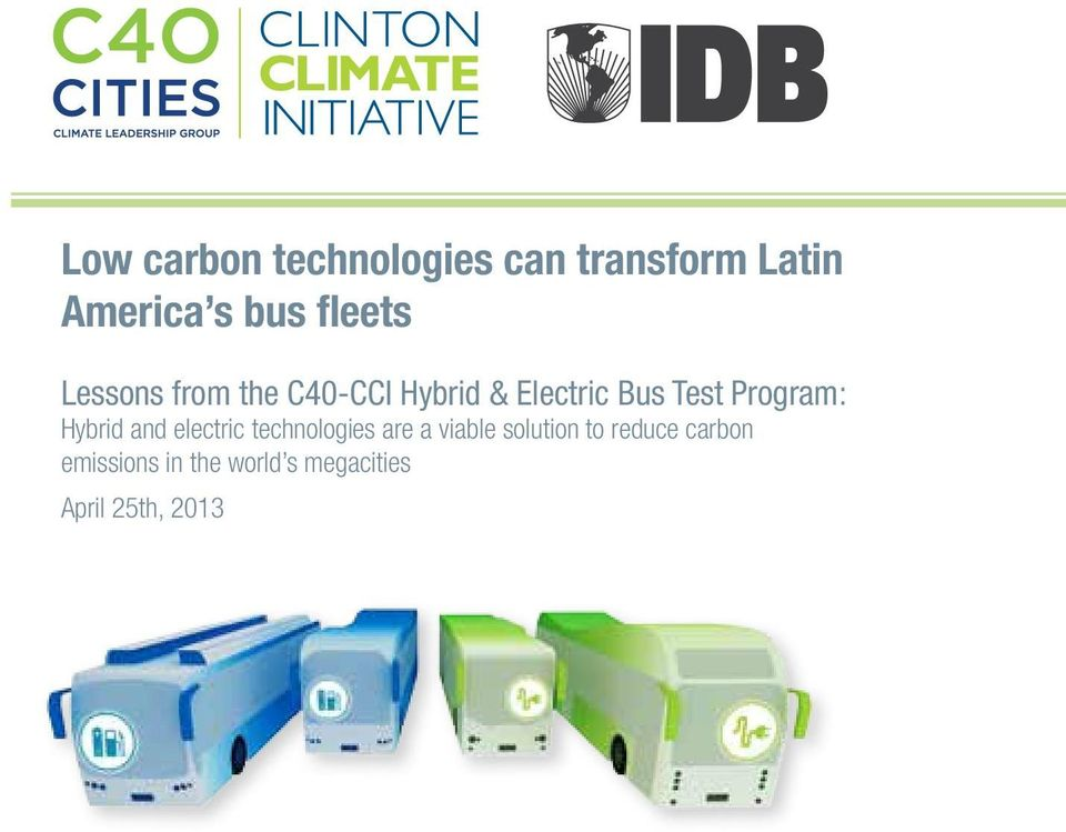 Program: Hybrid and electric technologies are a viable