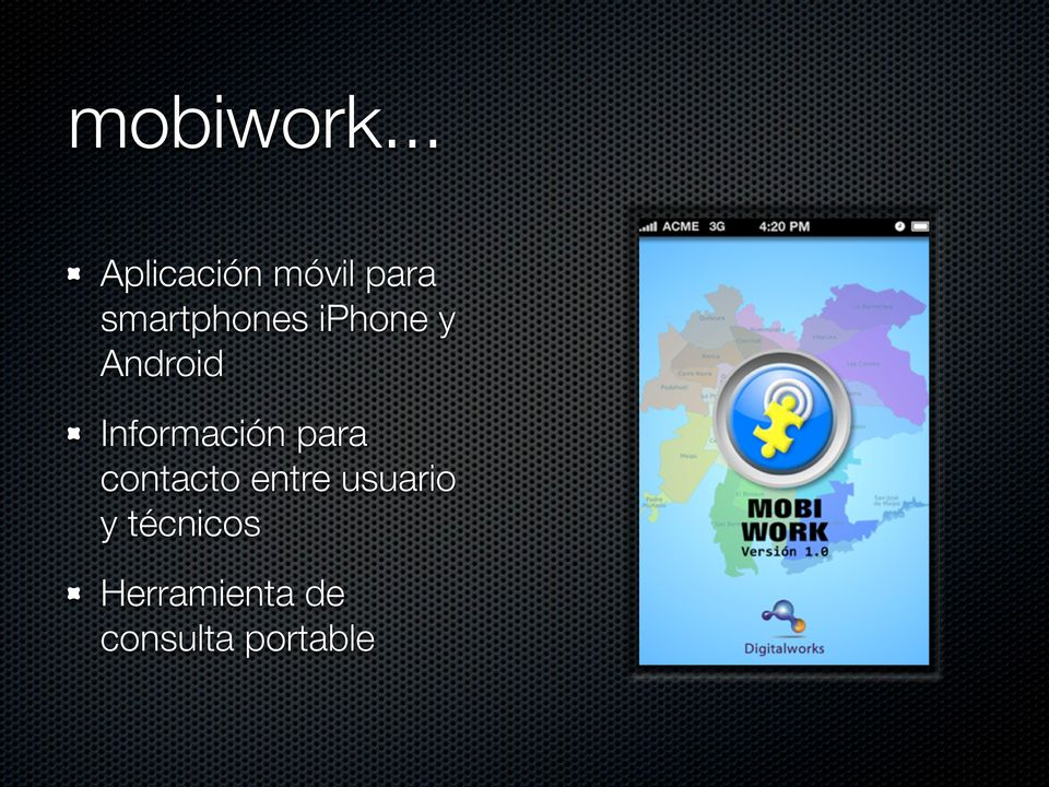 iphone y Android Información para