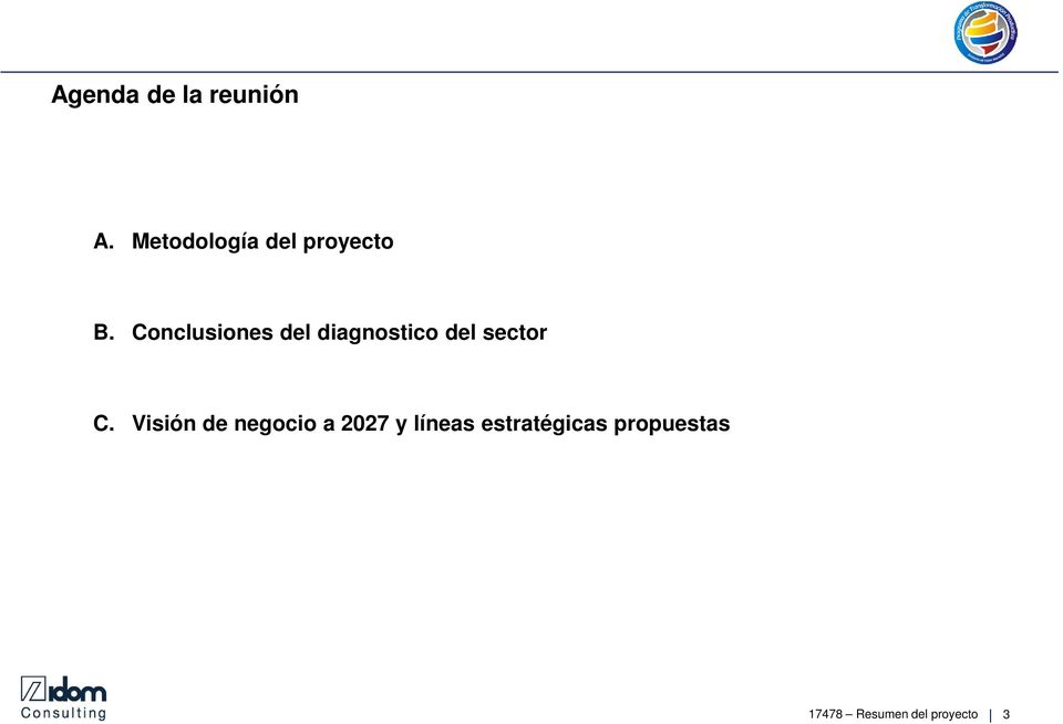 Conclusiones del diagnostico del sector C.